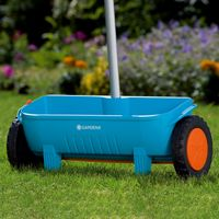 GARDENA 00430-20 Streuwagen, Streuwalze für Dünger, Samen, Kalk, Sand und Splitt – Bild 5