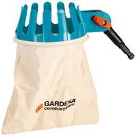 Gardena 03110-20 Obstpflücker mit waschbarem Baumwollbeutel und Edelstahlmesser, 16 cm – Bild 1