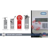 "Xavax by Hama 111977 Funk-Alarm-System ""FeelSafe"" Starter Set, inkl. Basisstation, 1x Bewegungssensor, 2x Fenster- / Türsensor und 1x Fernbedienung, 120 dB, Sabotageschutz – Bild 5"
