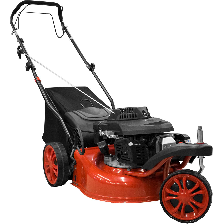 güde 95392 benzin rasenmäher eco wheeler trike 410, hinterradantrieb