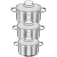 Rösle XXL-Kochset, bestehend aus Kochtöpfen inkl Deckeln, Bratpfanne, Grillpfanne und Bräter mit Glasdeckel, 15-teilig – Bild 9