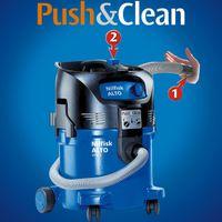Nilfisk ATTIX 30-21 PC Industriesauger Nass-/Trockensauger mit Gerätesteckdose und Push&Clean Filterabreinigung, 30 Liter – Bild 3