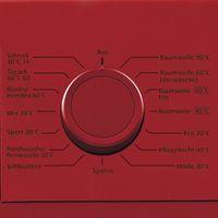 Hausmarke HM11979 Frontlader Waschmaschine rot, 7kg, 1400 UpM, 15 Programme, Startzeitvorwahl, Knitterschutz, Kindersicherung, EEK: A+++ – Bild 2
