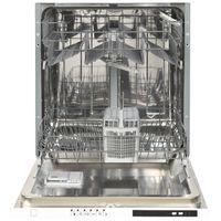 Hausmarke HM12056 vollintegrierter Geschirrspüler 60 cm, Aquastopp, LED-Display, 6 Programme, EEK: A++ – Bild 3