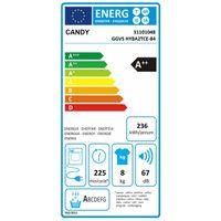 Candy 31101048 GGVS HY8A2TCE-84 8 kg Hybrid-Wärmepumpentrockner, Knitterschutz, EEK: A++ – Bild 9