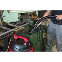 Viper by Nilfisk LSU 155 Nass-/Trockensauger mit 55 Liter Edelstahlbehälter, Ablassschlauch und umfangreichem Zubehör – Bild 5
