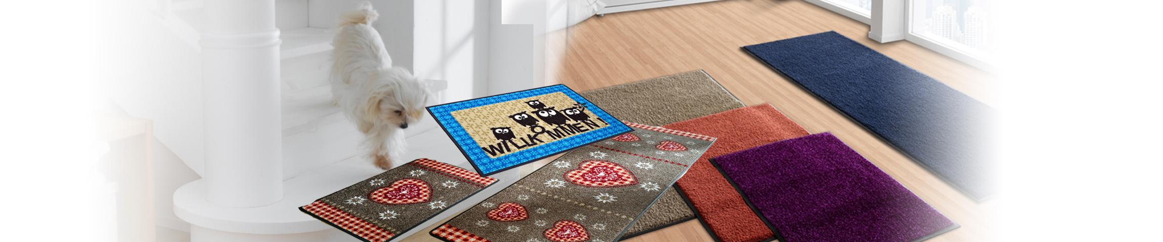 Für Ihren großen Auftritt - Teppiche, Abtreter und Läufer...