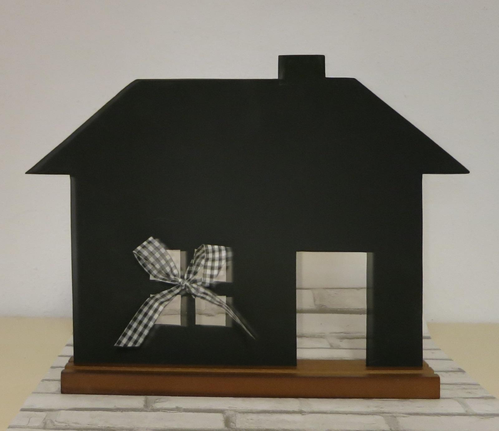 kreidetafel tafel haus zum beschriften ca 35 x 45 cm. Black Bedroom Furniture Sets. Home Design Ideas
