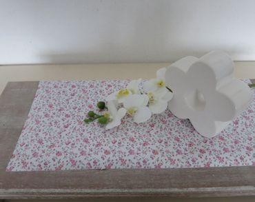 Klebefolie Blumen rosa - Möbelfolie Rosen Blumenranken -  Dekorfolie – Bild 4