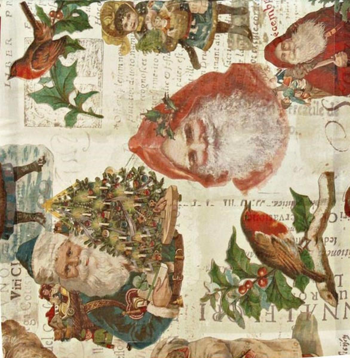 Weihnachten Nostalgisch.Apelt Tischläufer Nostalgische Weihnachten Mit Nikolaus 48 X 135 Cm Kuscheldecken Zierkissen Fensterfolie Fussmatten Teppichläufer