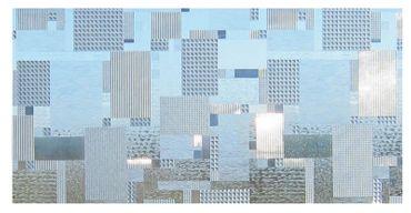 Fensterfolie Sichtschutz - Karo GLC-1068 - Dekorfolie - Meterware  – Bild 1