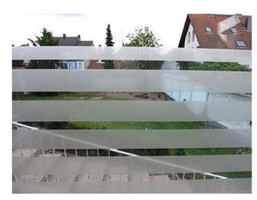 Fensterfolie Office - Streifen Folie 90 x 46 cm - statische Dekorfolie – Bild 1