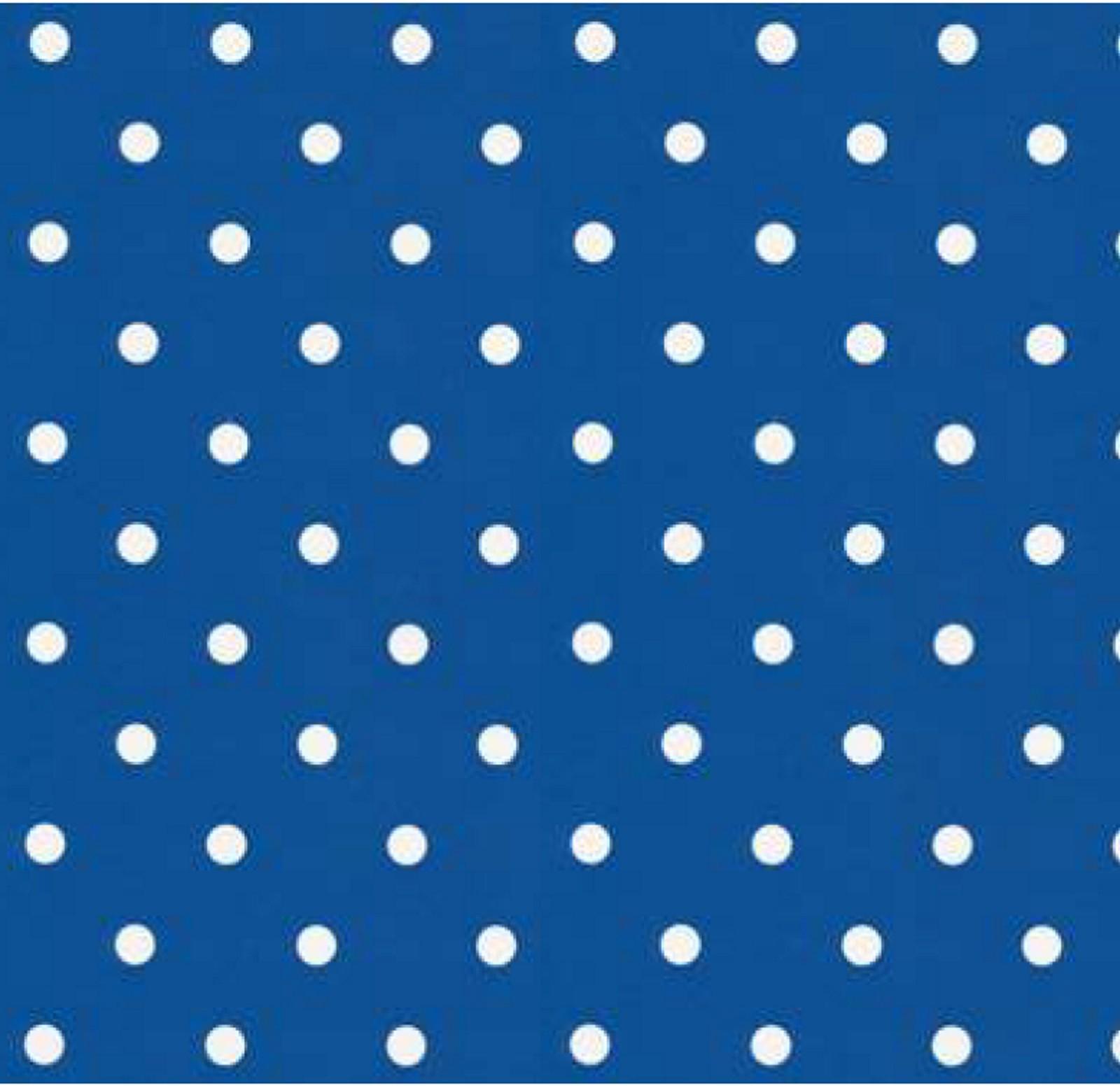 klebefolie möbelfolie dots punkte blau selbstklebende folie 45x200
