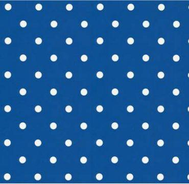 Klebefolie Möbelfolie Dots Punkte blau Selbstklebende Folie 45x200 cm