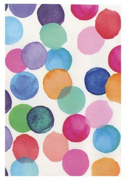 Klebefolie Punkte bunt - Julia  - selbstklebende Folie 45 x 200 cm  – Bild 1