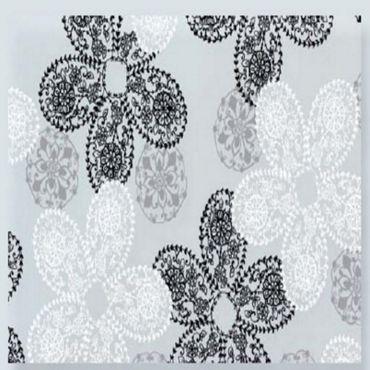 statische Fensterfolie Barock Spitze Blüten, Dekorfolie Brilliant Lace – Bild 2