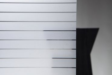Linea Fix® Fensterfolie Mayo Streifen schmal  Glasdekorfolie 46cmx20m