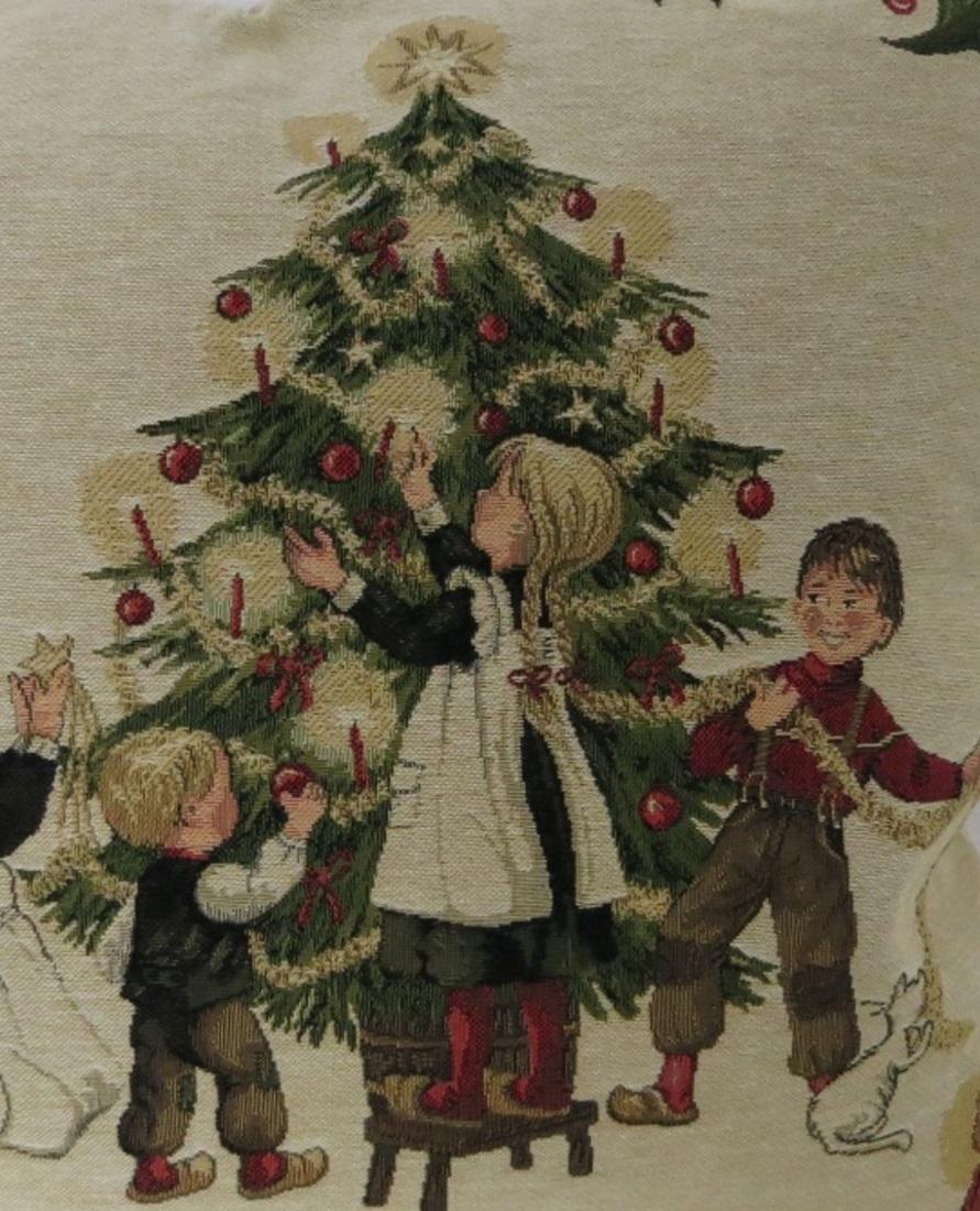 Bilder Weihnachten Nostalgisch.Kissenbezug Vintage Weihnachten Nostalgie Dekokissen Ca 45x45 Cm