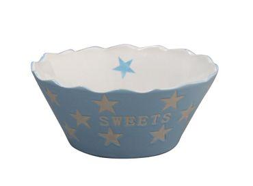 Schale SWEETS Sterne hellblau - Schüssel Happy Stars handbemalt – Bild 3