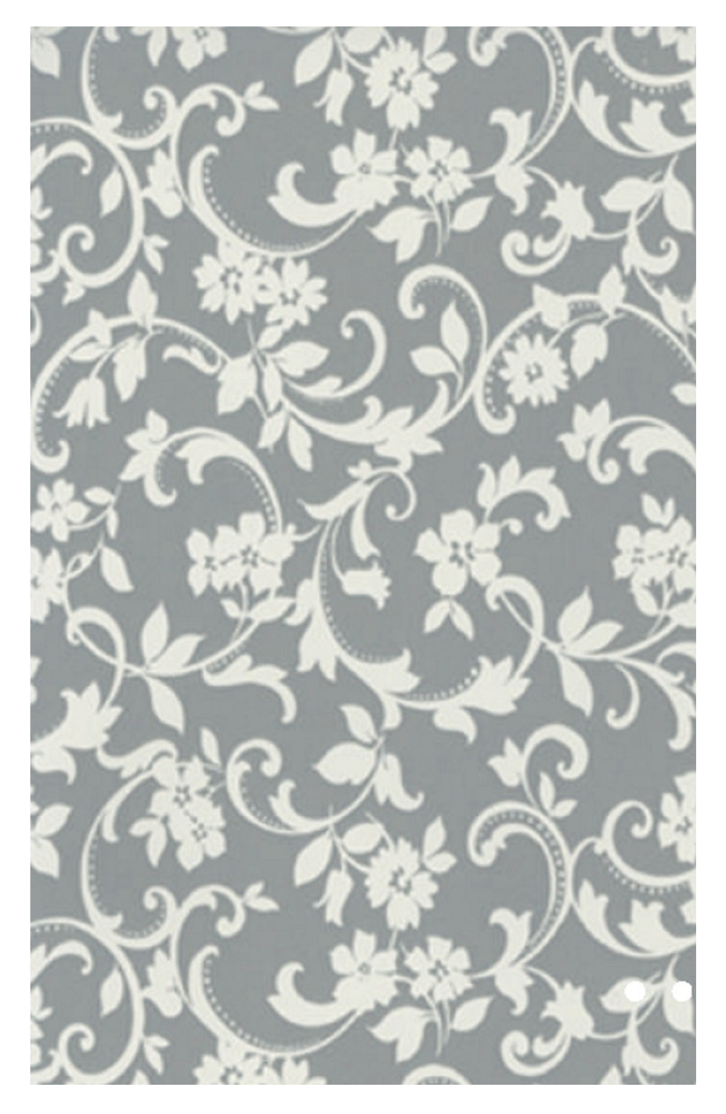 Klebefolie grau weiß - Muster Cirrus Ranken - Dekorfolie für Möbel |  Kuscheldecken Zierkissen Fensterfolie Fussmatten & Teppichläufer