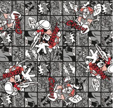 Klebefolie Decor Mickey Disney Comic schwarz weiß Dekorfolie 45x200 cm