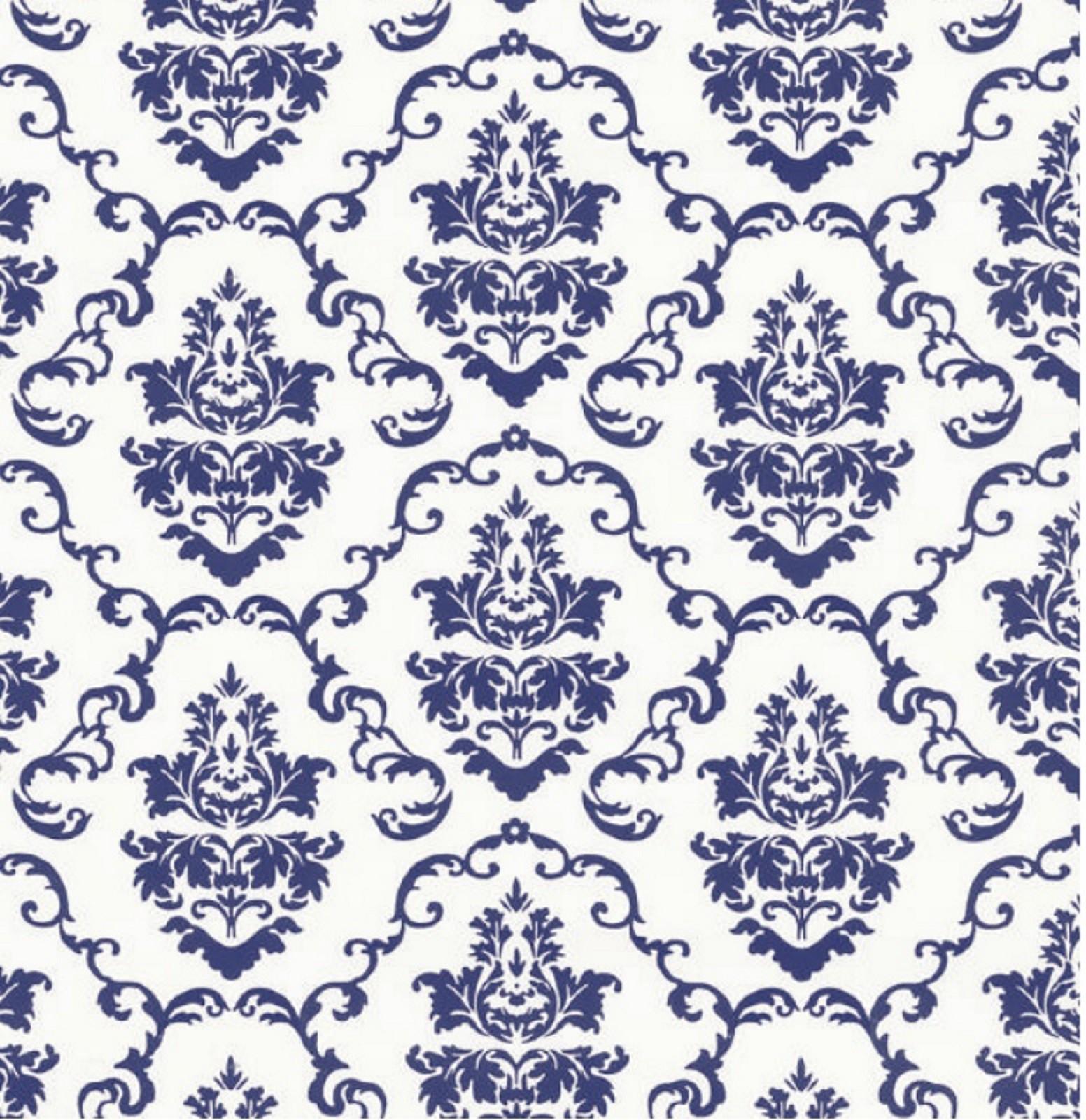 klebefolie ornament aida blue selbstklebende folie vintage dekorfolie klebefolie mit muster. Black Bedroom Furniture Sets. Home Design Ideas