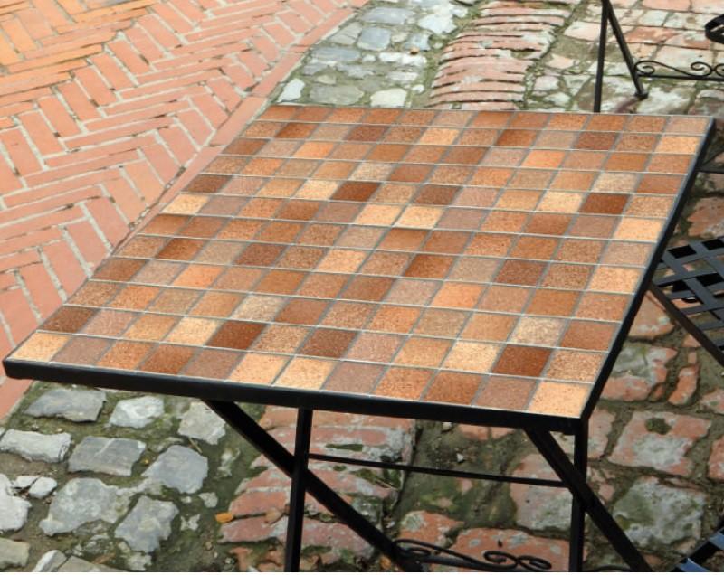 4er Set Klebefolie Fliesen Toscana Braun Möbelfolie J Rolle 45x200 Cm U2013  Bild 4