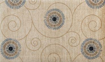 Teppich-Läufer Des. Chiaro beige - Moderner Läufer  Fußmatte waschbar – Bild 3