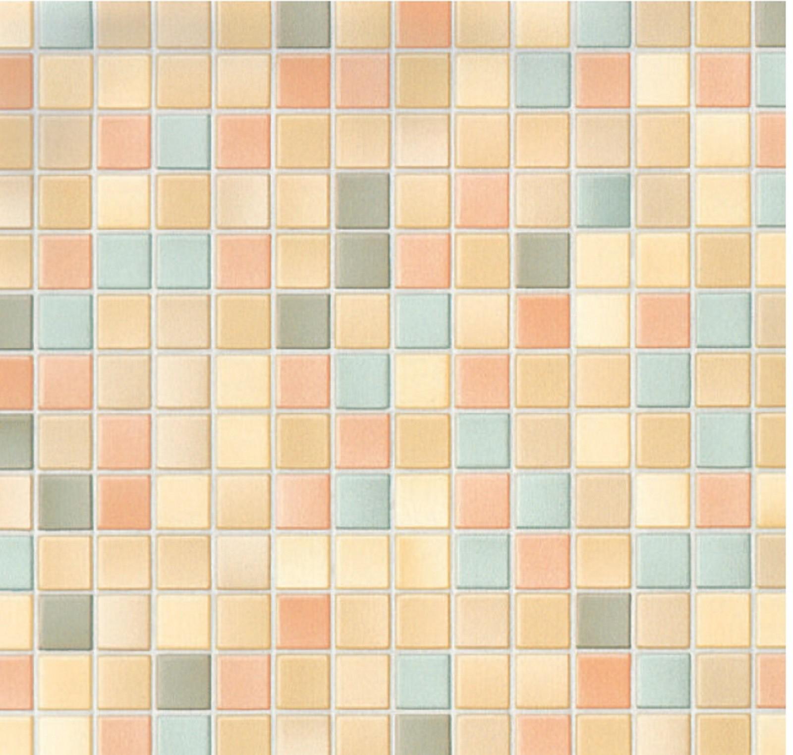 Klebefolie mosaik muster - Bunte kuchenfliesen ...