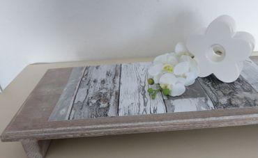 Klebefolie Holzoptik Scrapwood dunkel grau  90x200 cm - Möbelfolie  – Bild 4
