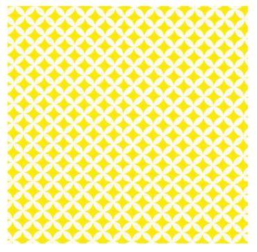 Klebefolie - Rauten gelb Elliot - Möbellfolie - Dekorfolie 45x200 cm – Bild 1