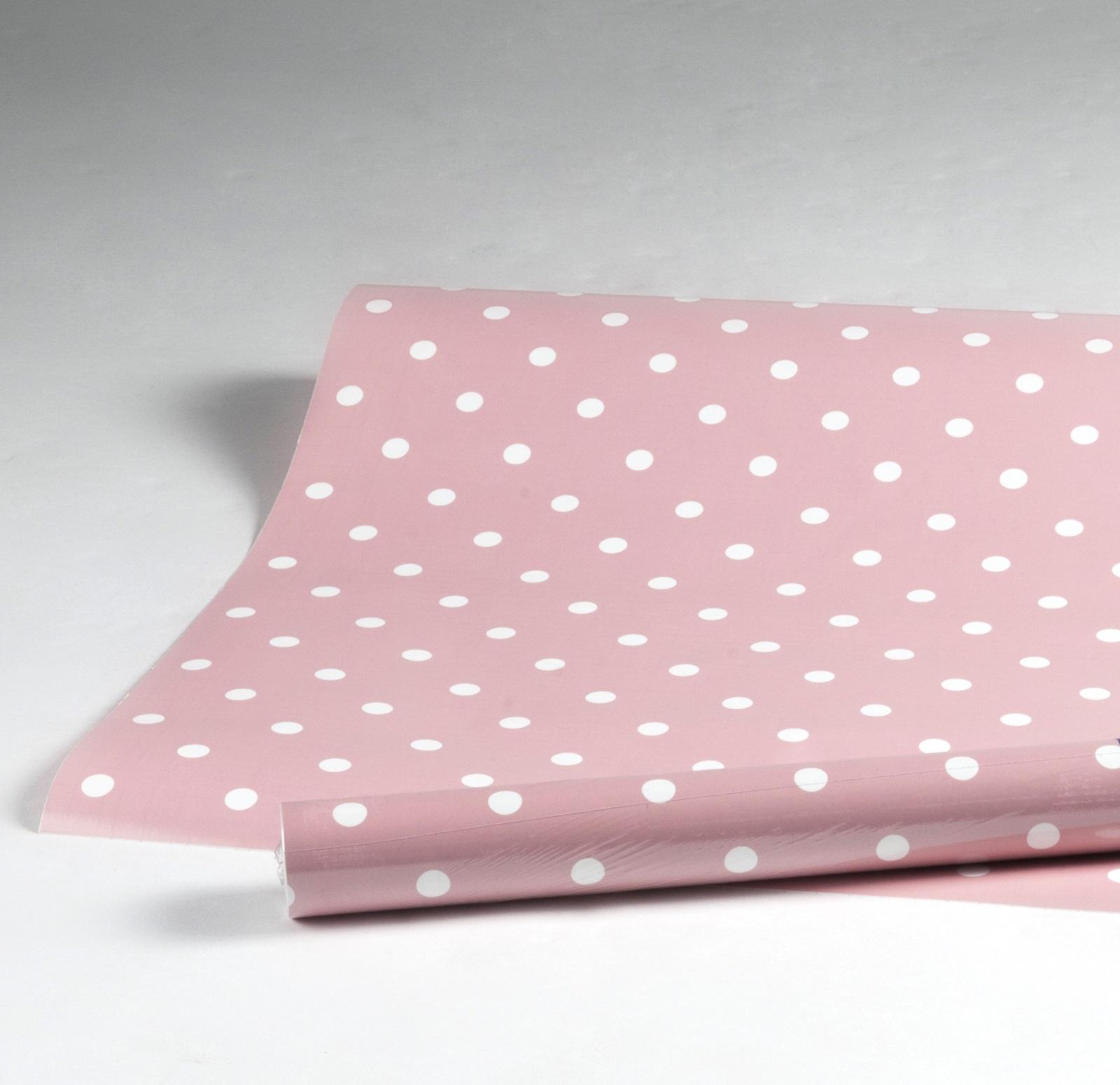 klebefolie dots vintage rosa m belfolie punkte dekorfolie. Black Bedroom Furniture Sets. Home Design Ideas