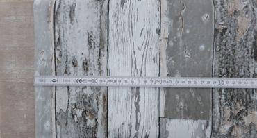 Klebefolie Holzoptik Scrapwood grau dunkel Möbelfolie Holz 45cm x15 m – Bild 2