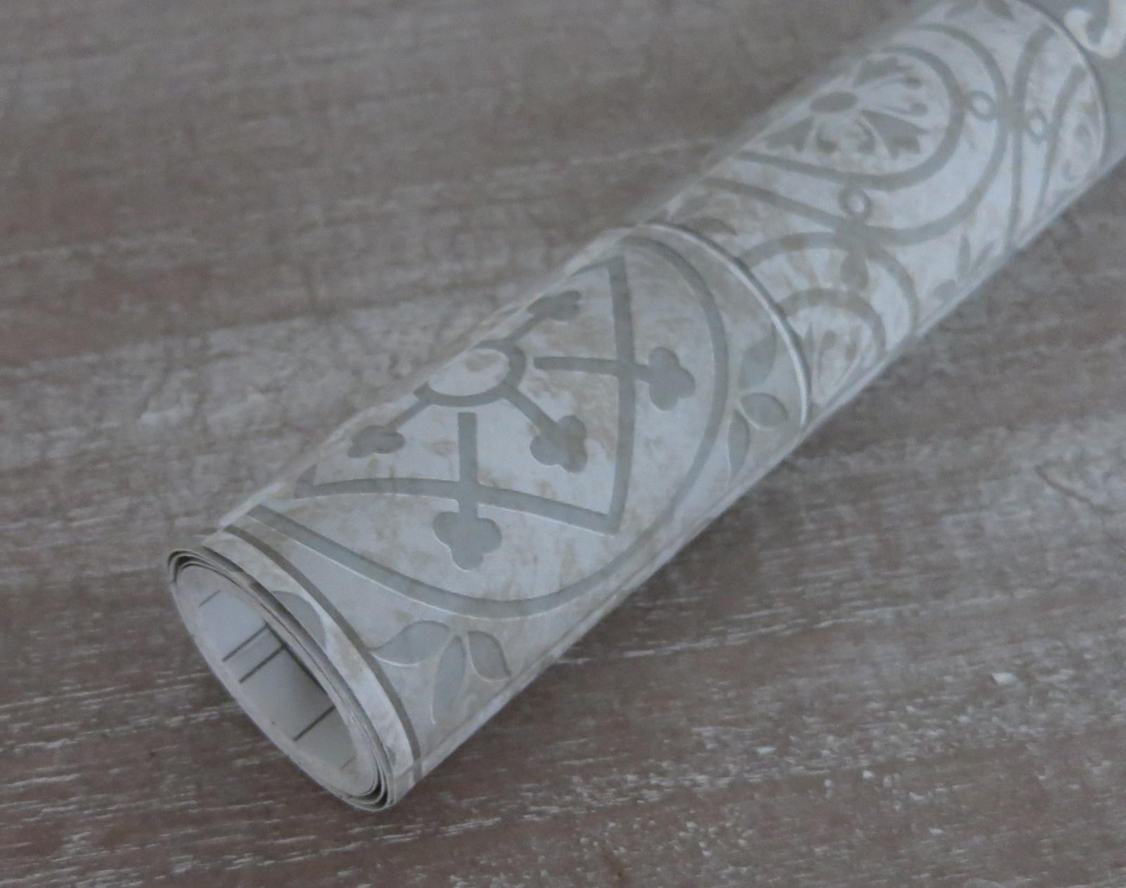 Klebefolie Möbelfolie Carrara Marmor Look rot rose Dekorfolie 45 cm x 200 cm
