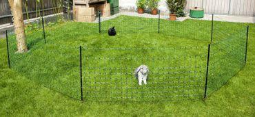 Kaninchennetz 50mtr, 65 cm Einzelspitze, grün – Bild 2