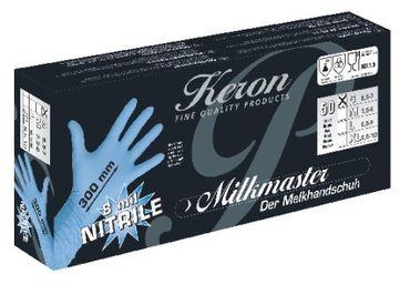 Nitrile-Handschuhe MILKMASTER 100 Stück Größe S NEU – Bild 2