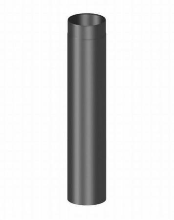 Rauchrohr Verlängerungsrohr Ø 120mm länge 1000 mm gussgrau