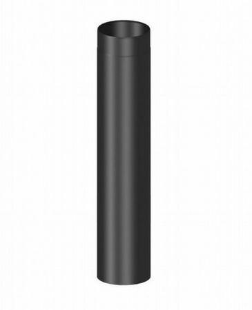 Rauchrohr Ø 150 mm 1000 mm lang schwarz Kaminrohr Ofenrohr