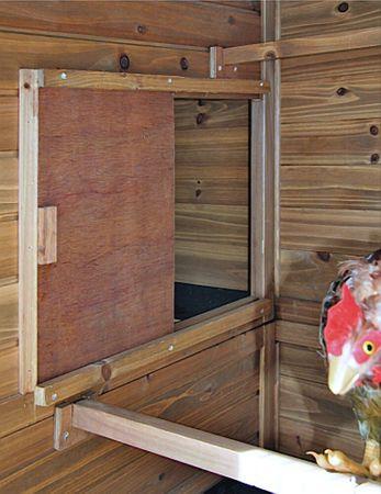 Hühnerhaus 222 x 115 x 200 cm Kleintierstall stabile Ausführung Bitumendach – Bild 5