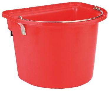 Turnier Futterkrippe in Rot 12 Liter Neu K-32871