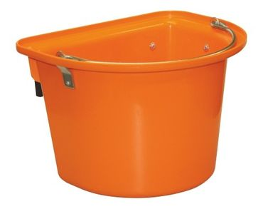 Turnier Futterkrippe in Orange 12 Liter Neu K-32870