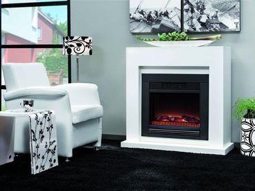 Elektro-Feuer SALERNO 230V Weiß oder Schwarz Kl-E660