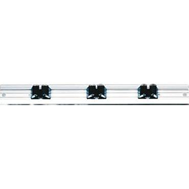 Alu-Geräteschiene 480 mm lang mit 3 Gerätehaltern U-653700 Neu
