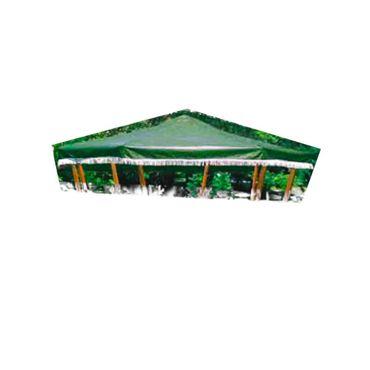 Ersatzdach zu Pavillon Rosenheim grün oder weiss Garten – Bild 3