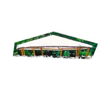 Ersatzdach zu Pavillon Rosenheim grün oder weiss Garten – Bild 2