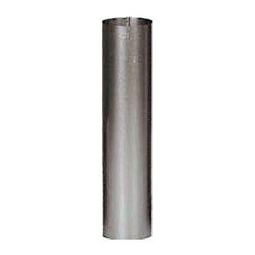 FAL-Rauchrohr Ø 100 mm 25 - 100 cm lang Ofenrohr 0,6 mm feueraluminiert