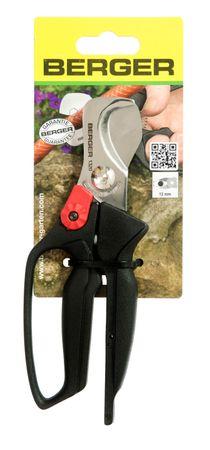 Berger Schlauchschere Kabelschere aus rostfreiem Hochleistungsstahl Handschutz Länge 180 mm ergonomische Griffe – Bild 5