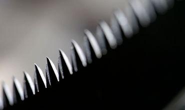 Berger Astsäge Gärtnersäge Buchenholzgriff auswechselbares verchromtes Sägeblatt 330 mm Gesamtlänge 500 mm – Bild 5