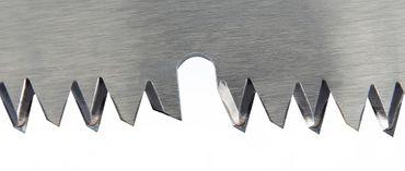 ArboRapid Aufsatzsäge mit Zughaken und Astabstoßer, einteilige Metalldülle für Schnellwechselsystem, hartverchromtes Hochleistungs-Sägeblatt (japanische Form), jedoch zusätzlich mit großem Räumzahn, Sägeblattlänge 400 mm – Bild 4