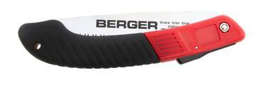 Berger Obstbaumsäge klappbar Klappsäge wechselbares Hochleistungs-Sägeblatt Gesamtlänge 225 mm mit Sicherheitsverriegelung – Bild 3